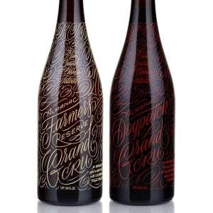 Nyomtatott üveg palackok